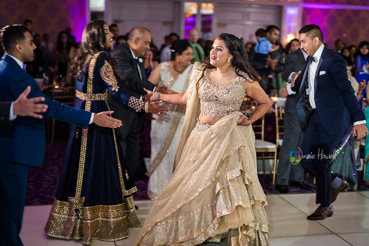 Hilton Charlotte Center South Asian Wedding (58)