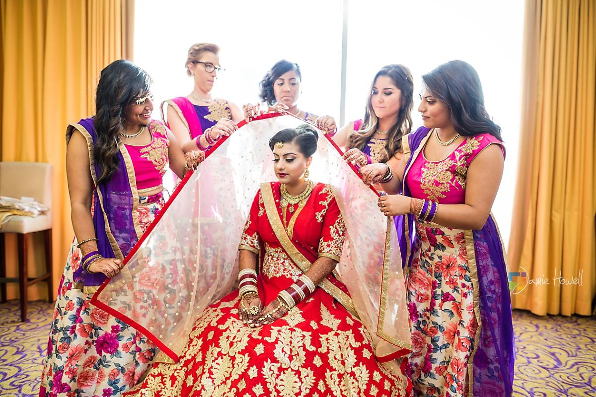Hilton Charlotte Center South Asian Wedding (6)