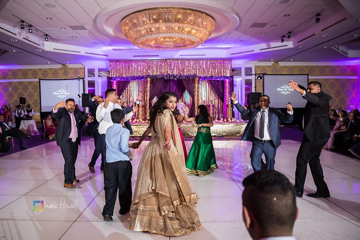 Hilton Charlotte Center South Asian Wedding (68)