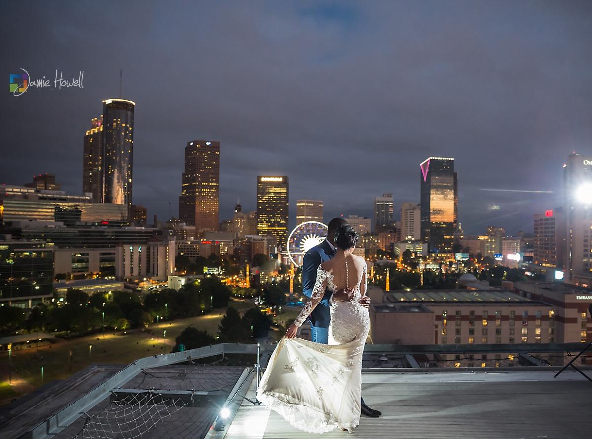 Ventanas Atlanta fusion wedding 21 - Asian Fusion Wedding Dress Uk